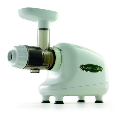 Omega - Nutrition Center Mastication Juicer White - 8003