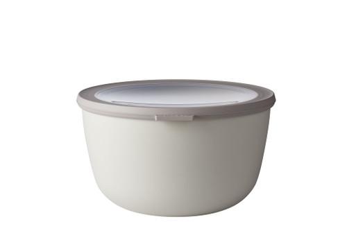 Mepal - Cirqula White 3L Mutli Bowl with Lid - RST62180WH