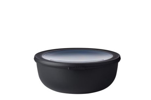 Mepal - Cirqula Black 2.25L Mutli Bowl with Lid - RST62160BLK