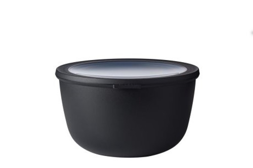 Mepal - Cirqula Black 3L Mutli Bowl with Lid - RST62180BLK