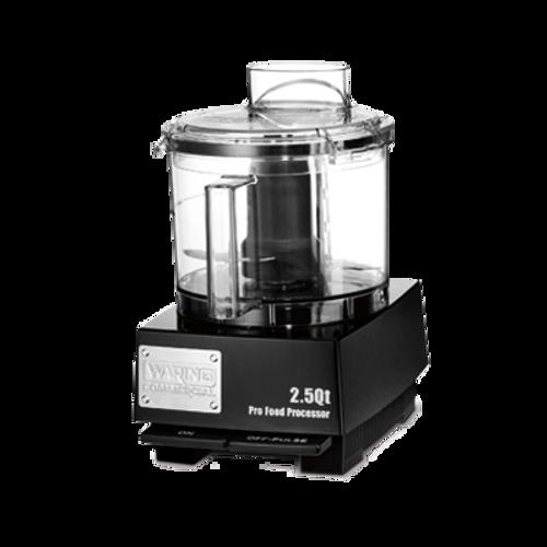 Waring - 2.5-Qt. Flat Cover Food Processor - WFP11SW