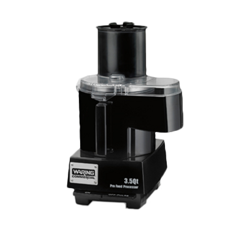 Waring - Combination 3.5-Qt. Batch Bowl Food Processor - WFP14SC