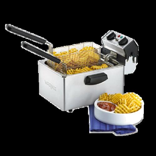 Waring - Compact 8.5-lb. Deep Fryer - WDF75B