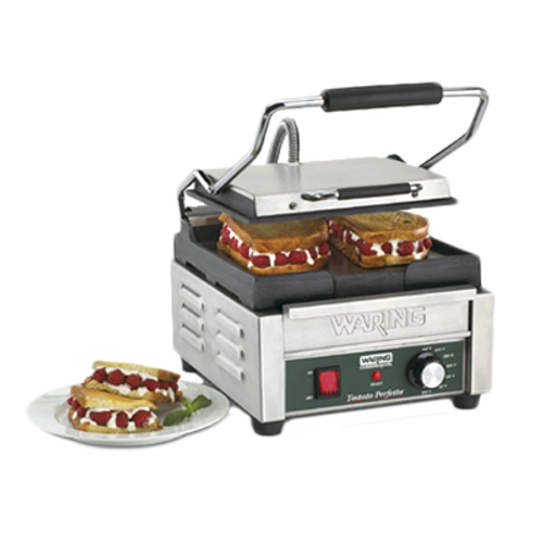 Waring - Compact Italian-Style Flat Grill - WFG150T