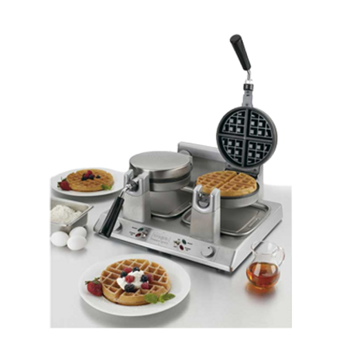 Waring - Double Side-by-Side Belgian Waffle Maker - WW250B