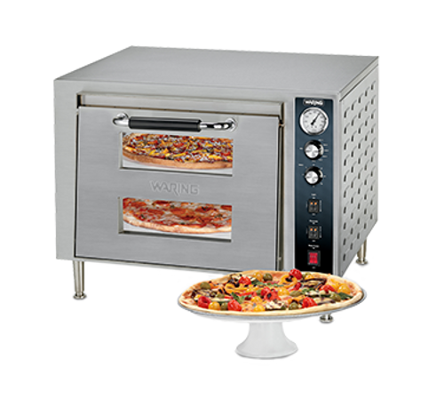 Waring - Double-Deck Pizza Oven - WPO700