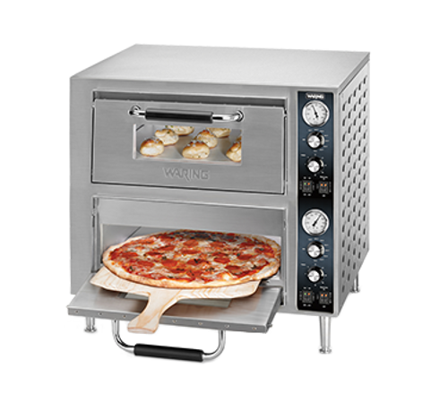 Waring - Double-Deck Pizza Oven - WPO750