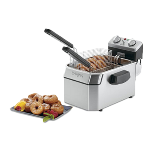 Waring - Heavy-Duty 10-lb. Deep Fryer - WDF1000B