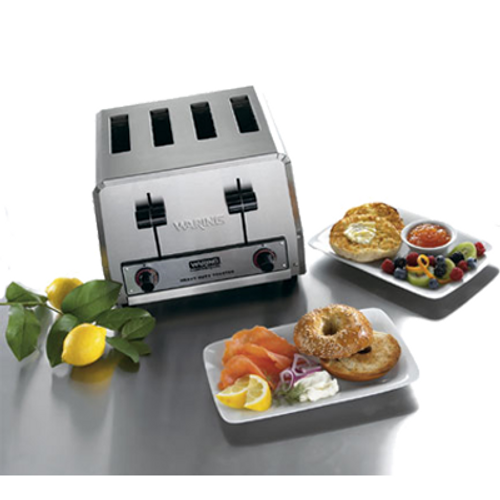 Waring - Heavy-Duty 4-Slot Toaster - WCT805