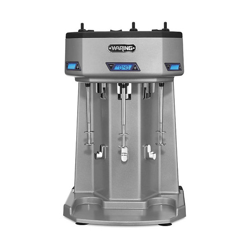 Waring - Heavy-Duty Triple-Spindle Drink Mixer with Timer - WDM360T