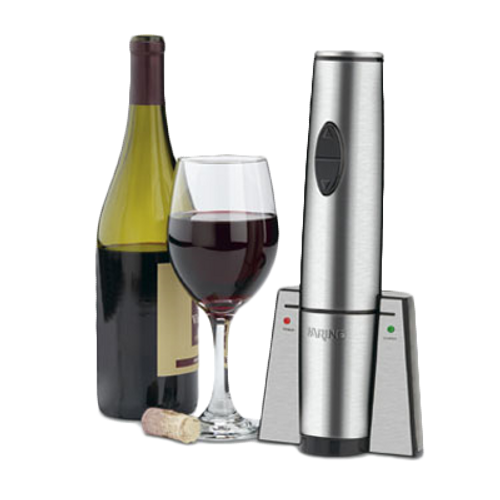 Waring - Portable Electric Wine Bottle Opener with Recharging Station - WWO120