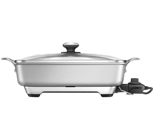 Breville - Thermal Pro Electric Skillet - BEF460SIL