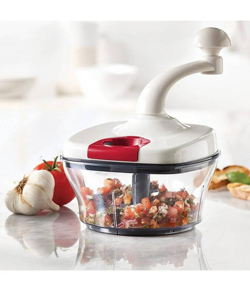 Trudeau - 7 Cup Manual Food Processor - 09917036