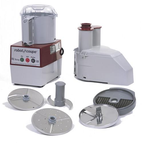 Robot Coupe - Combination Food Processor 2.9 L Gray Bowl - R2DICE