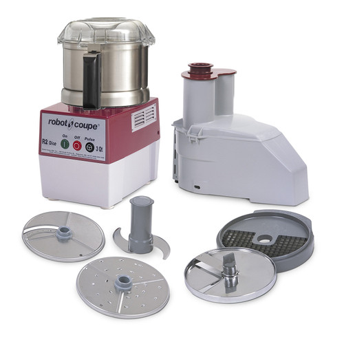 Robot Coupe - Combination Food Processor 2.9 L SS Bowl - R2DICEULTRA