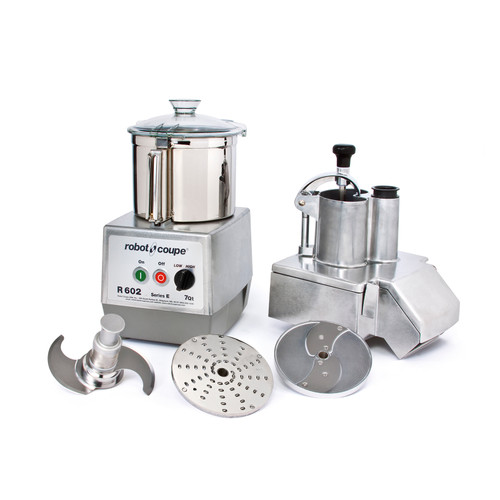 Robot Coupe - Combination Food Processor 7 L SS Bowl - R602