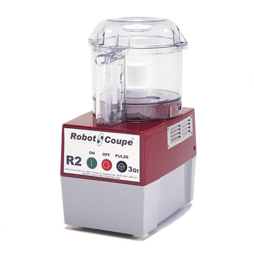 Robot Coupe - Food Processor 2.9 L Clear Bowl Single Speed - R2BCLR