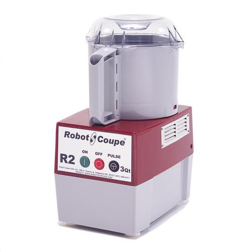 Robot Coupe - Food Processor 2.9 L Gray Bowl Single Speed - R2B