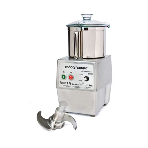 Robot Coupe - Food Processor 7 L SS Bowl Variable Speed - R602VVB