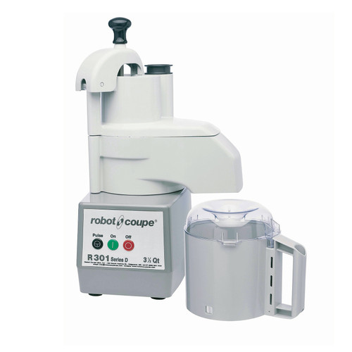 Robot Coupe - Food Processor with 3.7 L Gray Polycarbonate Bowl - R301
