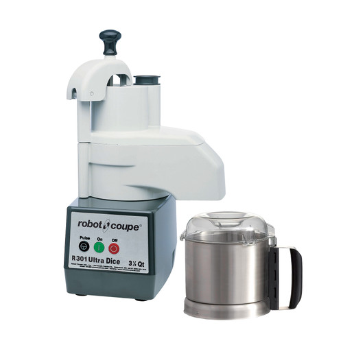 Robot Coupe - Food Processor with 3.7 L Stainless Steel Bowl - R301DICEULTRA