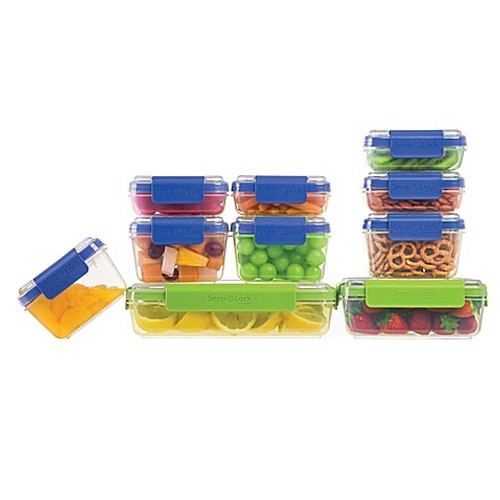 Progressive - Snap Lock 20-piece Food Storage Container Set - SNL20SETBBB