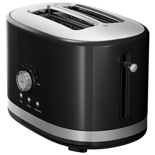 KitchenAid - 2 Slice Long Slot Toaster with High Lift Lever - KMT2116OB