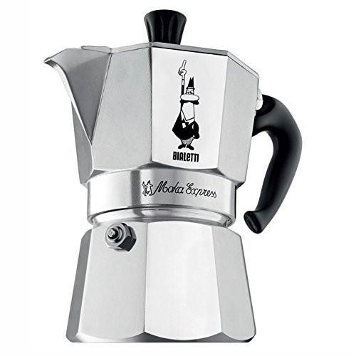 Bialetti - Moka 6 Cup Aluminum Stove Top Espresso Maker - 6800