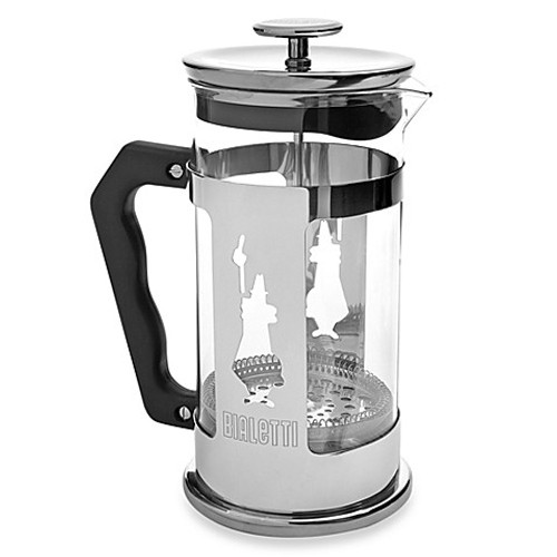 Bialetti - Preziosa 8 Cup Stainless Steel French Press - 6852