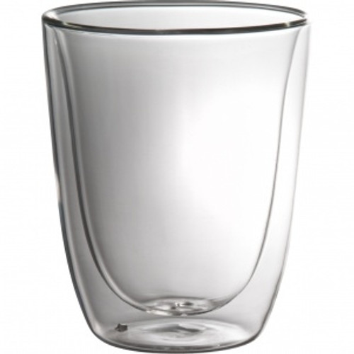 Trudeau - 11 Oz Duetto Double Wall Double Old Fashion Glass Set of 2 - 4902017