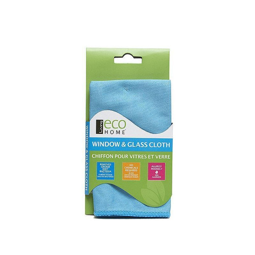 Eco Home - Microfibre Glass Cleaning Cloth - LEH003