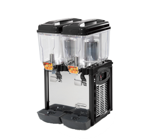 Cofrimell - Double 3 Gallon Commercial Juice Dispenser - CD2J
