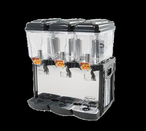 Cofrimell - Triple 3 Gallon Commercial Juice Dispenser - CD3J