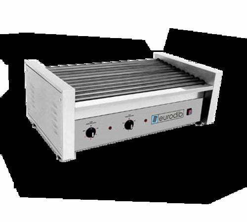 Eurodib - 50 Hot Dog Roller Grill 120 V 1760 W - SFE01630-120
