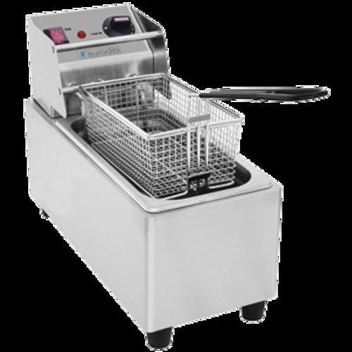 Eurodib - 8 L Electric Countertop Fryer Double Basket 120 Volt - SFE01860D-120