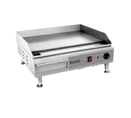 "Eurodib - 24"" Electric Griddle 240 V 2400 W - SFE04900"