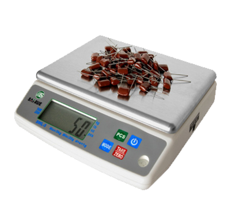 Eurodib - Digital Weighing & Counting Scale 3 Kg Capacity .5 G Sensitivity - SWL3