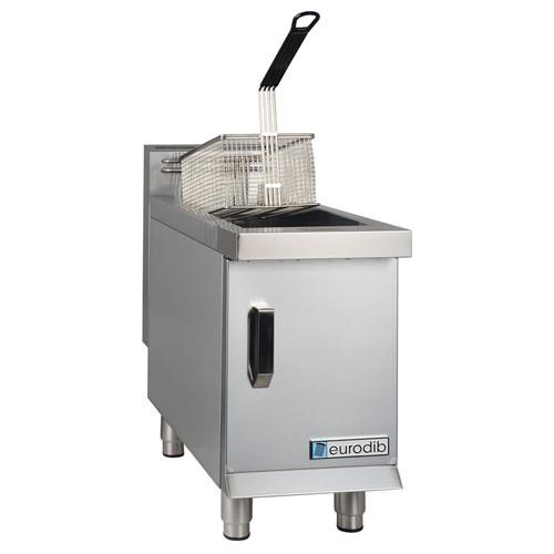 Eurodib - Natural Gas 15 Lbs Countertop Fryer 26,500 BTU - T-CF15