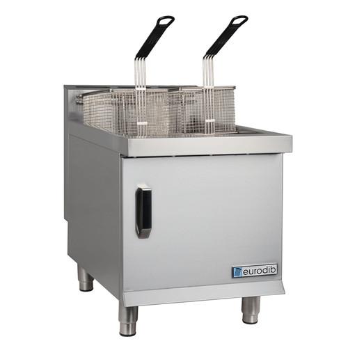 Eurodib - Natural Gas 30 Lbs Countertop Fryer 53,000 BTU - T-CF30