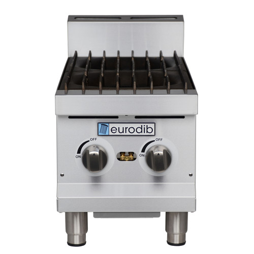 Eurodib - 2 Burner Hot Plate 60,000 BTU - T-HP212