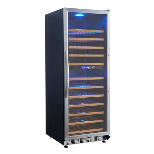 Eurodib - 128 Bottle Dual Temperature Wine Cooler - USF128D