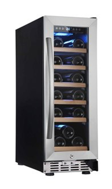 Eurodib - 18 Bottle Single Temperature Wine Cooler - USF18S