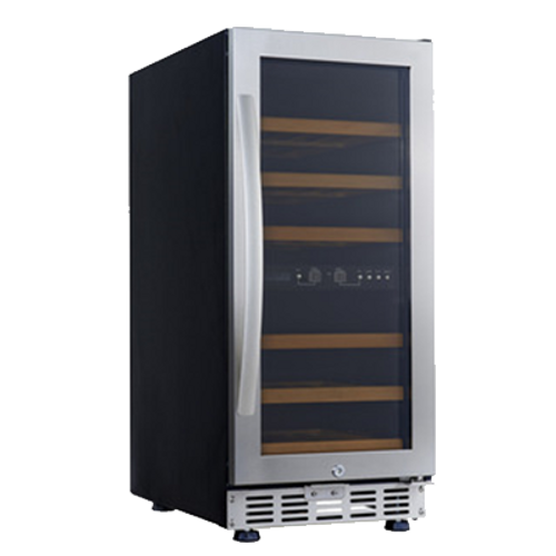 Eurodib - 26 Bottle Dual Temperature Wine Cooler - USF33D