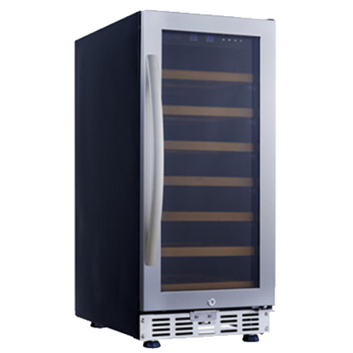 Eurodib - 31 Bottle Single Temperature Wine Cooler - USF33S