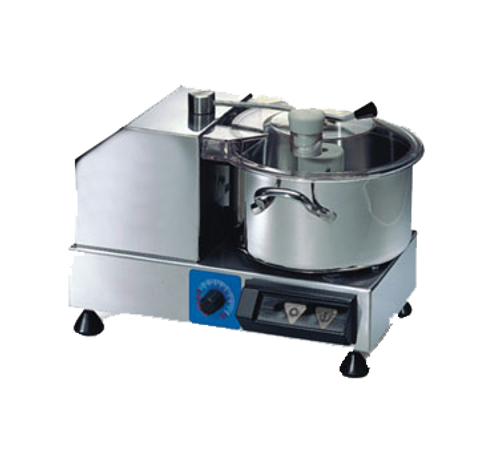 Sirman - 6 L Horizontal Food Processor .5 Hp  120V 350W - C6VV