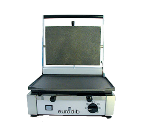 "Sirman - Flat Panini Grill 14.5"" x 10"" Cooking Surface 110V 1800W - CORT-F-110"