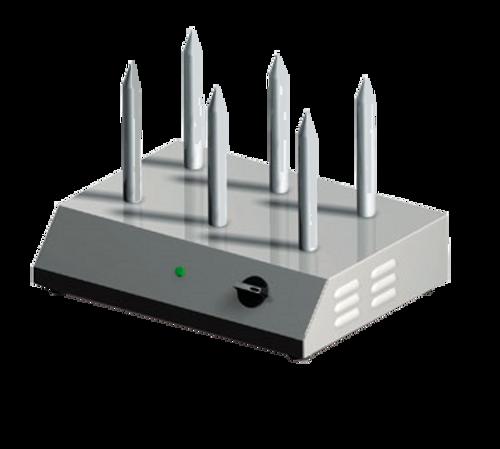Sirman - 6 Bun Hot Dog Bun Warmer 110V 875W - ROBERTO