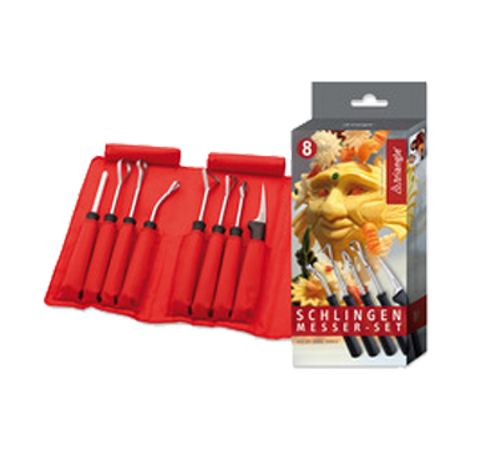 Triangle - 8 Pc Carving Loop Tool Set - 9084408