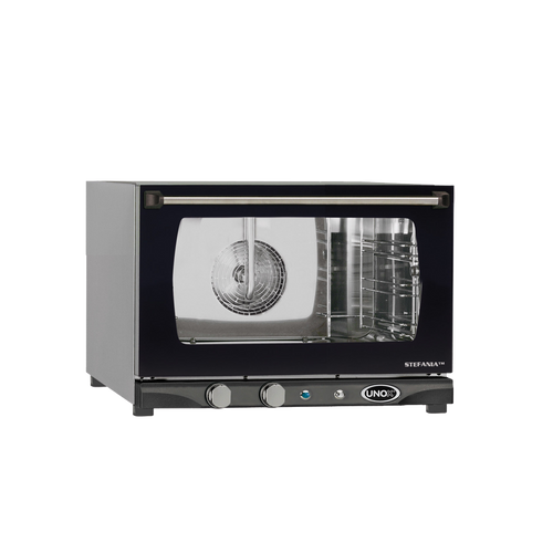 "Unox - LineMiss ""Stefania"" Manual W/ Humidity Convection Oven 120 V 1500 W - XAFT113"