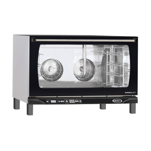 "Unox - LineMiss ""Rosella"" Digital W/ Humidity Convection Oven 208-240 V 5600 W - XAFT195"
